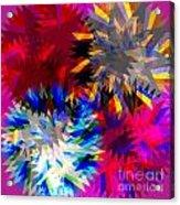 Blade In Pink Acrylic Print by Atiketta Sangasaeng