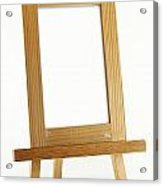 Blank Vertical Wood Frame Acrylic Print by Blink Images