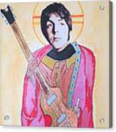 Blessed Paul Acrylic Print by Philip Atkinson