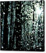 Blue Burns The Twilight Acrylic Print by Rebecca Sherman
