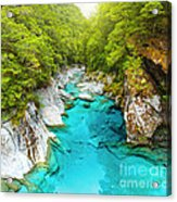 Blue Pools Acrylic Print by MotHaiBaPhoto Prints