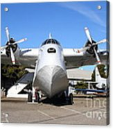 Boac British Overseas Airways Corporation Speedbird Flying Boat . 7d11246 Acrylic Print by Wingsdomain Art and Photography