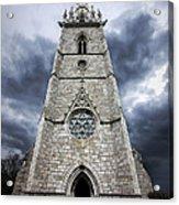 Bodelwyddan Church Acrylic Print by Meirion Matthias