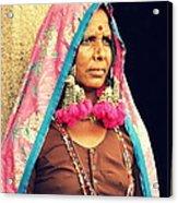 Bohemian Acrylic Print by Vishakha Bhagat