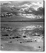 Bonneville Salt Flats Two Acrylic Print by Isak Hanold