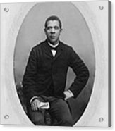 Booker T. Washington 1856-1915,  Ca Acrylic Print by Everett