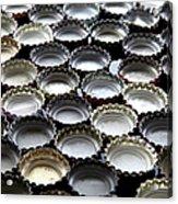 Bottlecaps Acrylic Print by Shana Novak