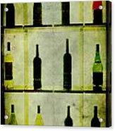 Bottles Acrylic Print by Alexander Bakumenko