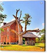 Bowen Plantation House 003 Acrylic Print by Barry Jones