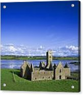 Boyle Abbey, Ballina, Co Mayo Acrylic Print by The Irish Image Collection