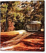 Brewer Cabin Acrylic Print by Jai Johnson