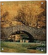 Bridge From The Past Acrylic Print by Nishanth Gopinathan