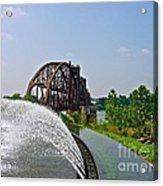Bridge To The Past Acrylic Print by Joe Finney
