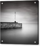 Bridlington Harbour Acrylic Print by Ian Barber
