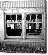 Broken Windows Acrylic Print by Cheryl Young