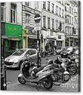 Bruxelles Street Acrylic Print by Yury Bashkin