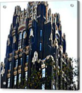 Bryant Park Hotel - Nyc Acrylic Print by Kimberly Perry