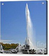 Buckingham Fountain - Chicago's Iconic Landmark Acrylic Print by Christine Till