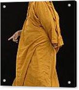 Buddhist Monk 3 Acrylic Print by Bob Christopher
