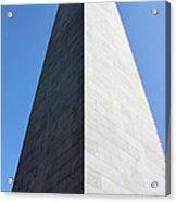 Bunker Hill Monument Acrylic Print by Kristin Elmquist