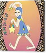 Bunnie Girls- Starr- 2 Of 4 Acrylic Print by Brenda Dulan Moore