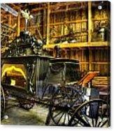 Burial Hearse Wagon Coach - Vintage - Nostalgia - Western - Antique  Acrylic Print by Lee Dos Santos
