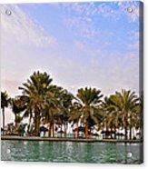 Burj Al Arab Dubai Uae Acrylic Print by Anusha Hewage