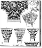 Byzantine Ornament Acrylic Print by Granger