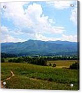 Cades Cove Acrylic Print by Susie Weaver