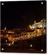 Calahorra At Night Acrylic Print by RicardMN Photography