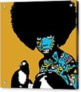 Call Of The Child Full Color Acrylic Print by Kamoni Khem