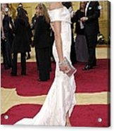 Cameron Diaz Wearing Valentino Couture Acrylic Print by Everett