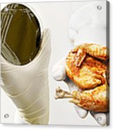 Campylobacter Food Poisoning Acrylic Print by Tim Vernon, Lth Nhs Trust