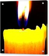 Candle Power Acrylic Print by Will Borden