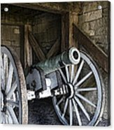 Cannon Storage Acrylic Print by Peter Chilelli