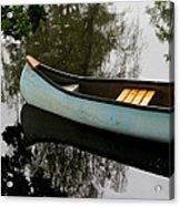 Canoe Acrylic Print by Odd Jeppesen