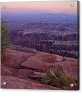 Canyonlands At Dusk Acrylic Print by Andrew Soundarajan