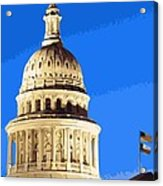 Capitol Dome Color 16 Acrylic Print by Scott Kelley