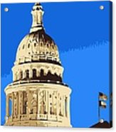Capitol Dome Color 6 Acrylic Print by Scott Kelley
