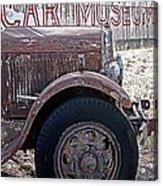 Car Museum Acrylic Print by Tony Grider