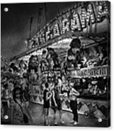 Carnival - Game-a-rama Acrylic Print by Mike Savad