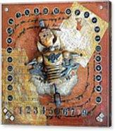 Carnival Boy Acrylic Print by Anastasia Weigle