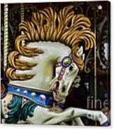 Carousel Horse - 4 Acrylic Print by Paul Ward