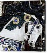 Carousel Horse - 9 Acrylic Print by Paul Ward