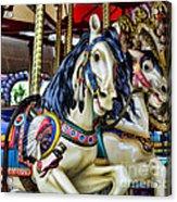 Carousel Horse 2 Acrylic Print by Paul Ward