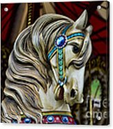 Carousel Horse 3 Acrylic Print by Paul Ward