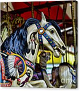 Carousel Horse 6 Acrylic Print by Paul Ward