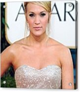 Carrie Underwood At Arrivals For The Acrylic Print by Everett