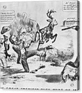 Cartoon: Election Of 1856 Acrylic Print by Granger