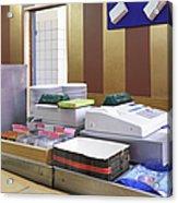 Cashier Desk Acrylic Print by Magomed Magomedagaev